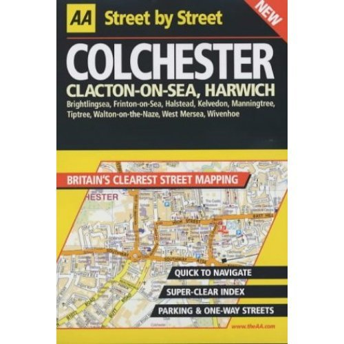 AA Street by Street Colchester