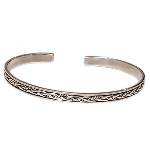 fbee0264077 Stunning Women's Girls 925 Sterling Silver Bangle Bracelet on OnBuy