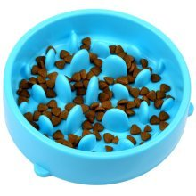 H&S Slow Feeder Dog Bowl - Slow Eating Dog Bowl - Interactive Feeder
