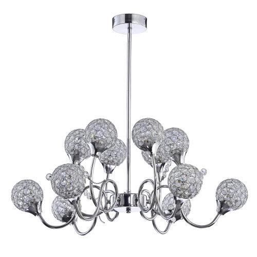 Osterley 6 + 6 Pendant LED Ceiling Light