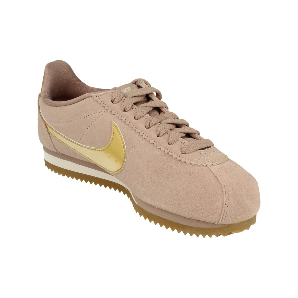 best service 399f5 67169 ... Nike Womens Classic Cortez Se Trainers 902856 Sneakers Shoes - 3 ...