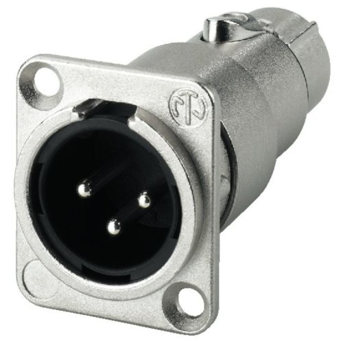 Adaptor - Neutrik Xlr Feed-through Panel Connectors, 3 poles
