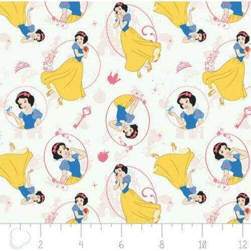 Fat Quarter Disney Snow White Cotton Quilting Fabric