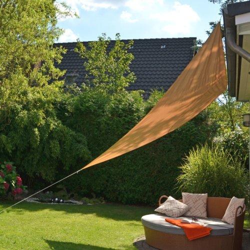 HI Sunshade Sail Waterproof UV Block Triangular 3.6m Beige Sunscreen Shelter