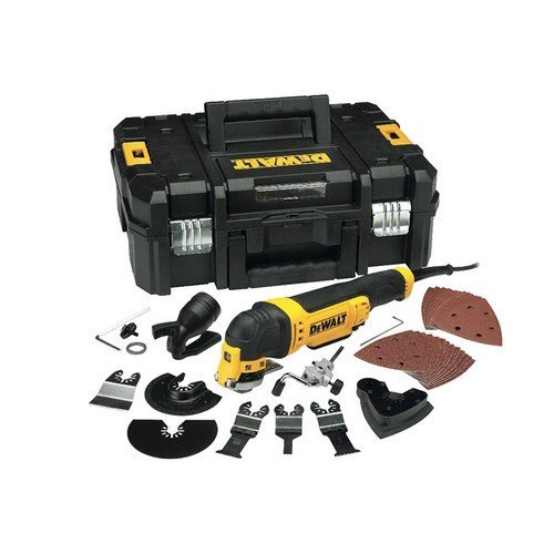 DeWalt DWE315KT Multi Tool Quick Change kit Accessories Case 300 Watt 240 Volt