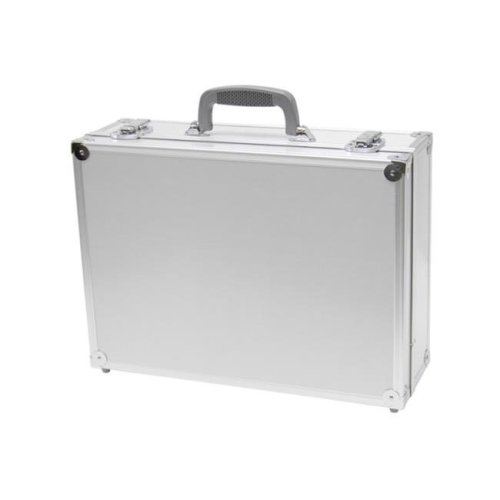 TZ Case PKG-18 S Aluminum Packaging Case, Silver - 6 x 13 x 18 in.