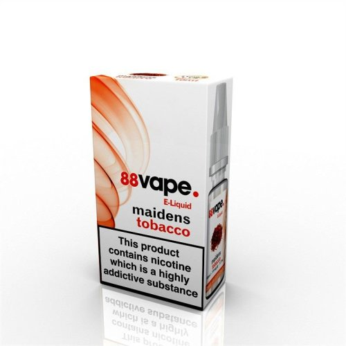 88 Vape E-Liquid Nicotine 16mg Maidens Tobacco 10ML