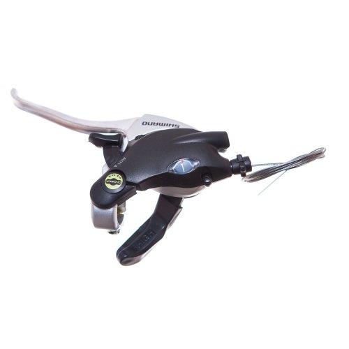 Shimano BIKE/CYCLE BRAKE/GEAR SHIFTER LEFT HAND blk/slv 3speed VBRAKE ST-EF29-L