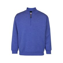ProQuip Half Zip Merino Water Repellent Jumper Blue Large