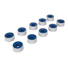 Silverline Tools 905866 White PTFE Thread Seal Tape - Silver (pack Of 10) - -  ptfe thread seal tape 19mm white x 12m 10pk silverline 905866