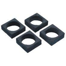 5cm Master Class Artesã Slate Napkin Rings - Set Square 55cm 4 Artes -  slate napkin set square rings 55 cm 4 master class artes