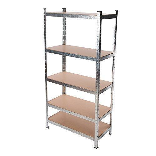 Silverline Boltless Freestanding Shelving Unit 5-tier - 666247 5tier Storage -  boltless shelving unit silverline freestanding 666247 5tier storage