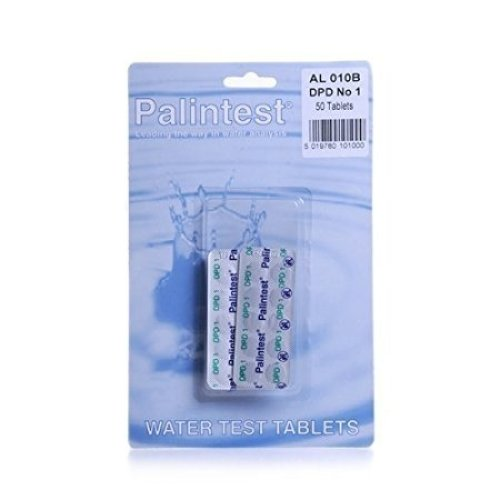 Palintest DPD No.1 Rapid Dissolve Tablets (50) - Type: 50 per pack