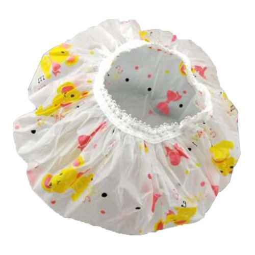 5 Pcs Women Bathing Caps Waterproof Shower Cap Kitchen Anti-smoke Cap #9