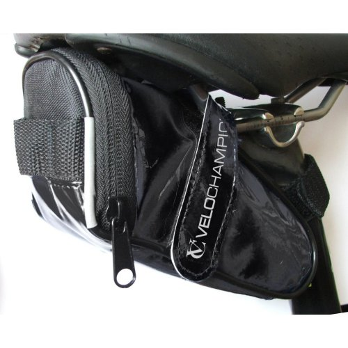 VeloChampion Slick Bike Seat Pack - Black