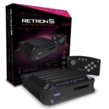 Hyperkin RetroN 5 Retro Video Gaming System 5 in 1 - Black