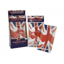 Union Jack Magnet Memo Shopping Pad - Magnetic List Pen Great Britain Love -  magnetic memo shopping list pen union jack great britain love heart