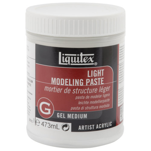 Liquitex Light Modeling Paste-16oz