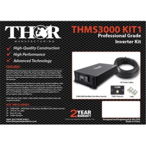 Thor THMS2000 KIT1 10 ft. of 1-0 Cable & Lugs