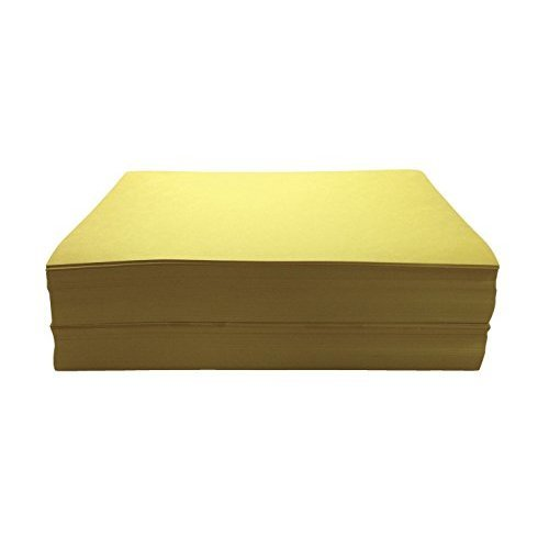 Childcraft 1465885 Light Weight Construction Paper 9 x 12 Yellow Pack of 500