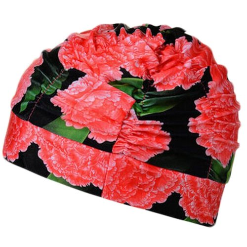 Fashionable Women's Swim Cap Shower Cap, Style B