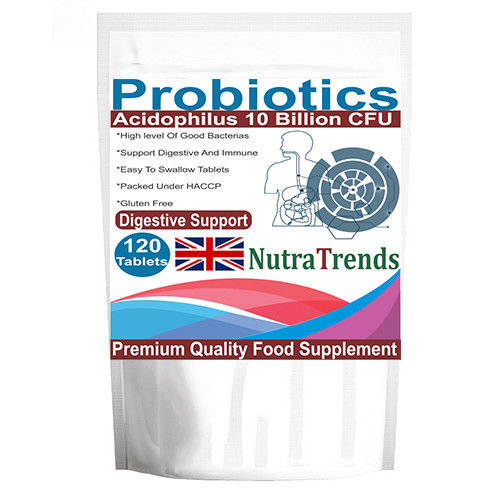 Probiotics 10 billion Acidophilus Tablets UK made
