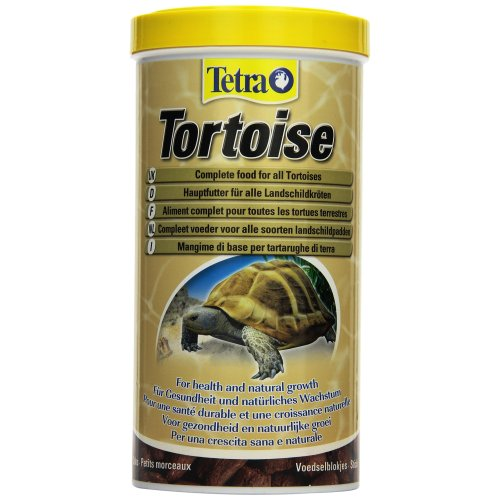 Tetra Tortoise, Complete Food for All Tortoises, 1 Litre