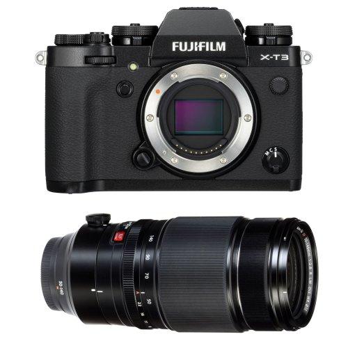 FUJI X-T3 Black + XF 50-140MM F2.8 R LM OIS WR Black