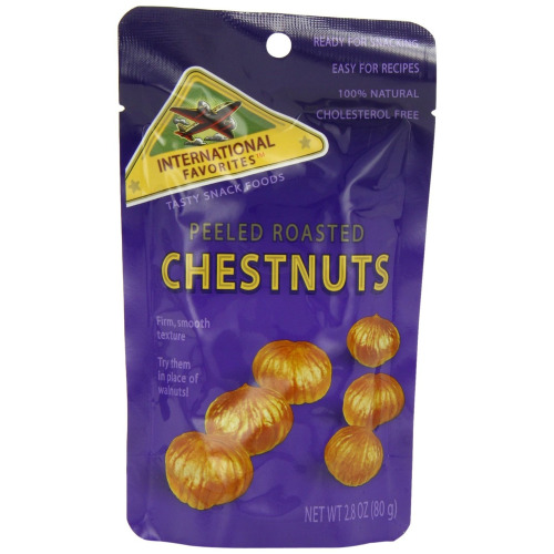 International Favourites 20% off Peeled Roasted Chestnuts 200g