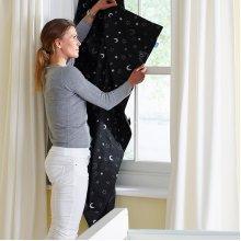 Gro Company Gro Anywhere Blind Star and Moon Design Baby Nursery Window Blackout
