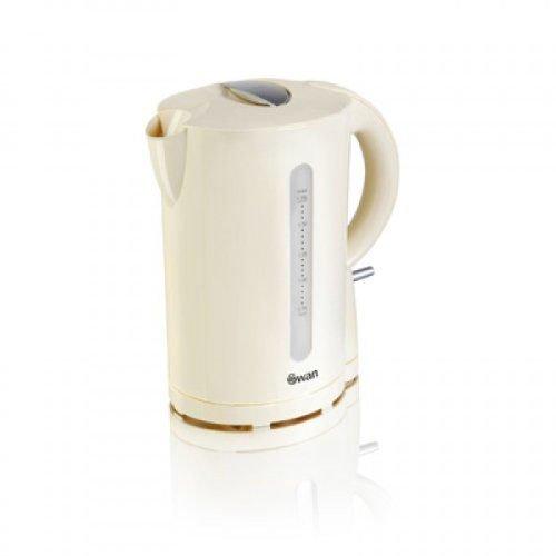 Swan Jug Kettle Cordless Design Rapid Boil 1.7L - Cream (Model No SK18120CREN