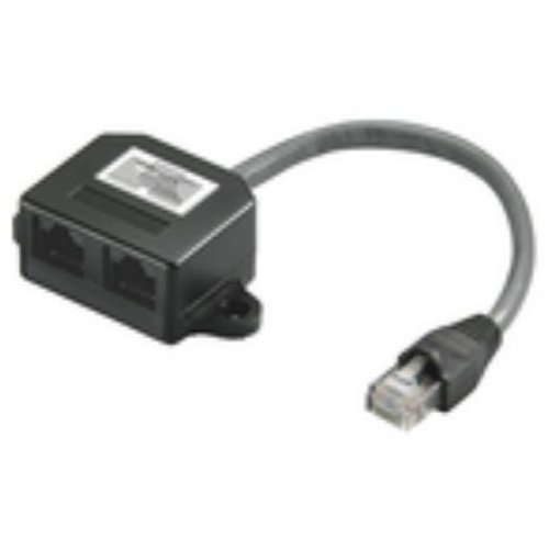 Microconnect MPK418 RJ45 RJ45 Black cable interface/gender adapter