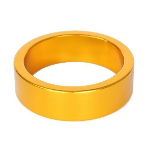 Origin8 Headset Spacers, 10mm x 1- 1/8, Gold Annodized