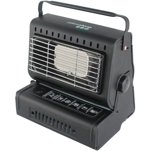 Yellowstone Portable Gas Heater (Black)