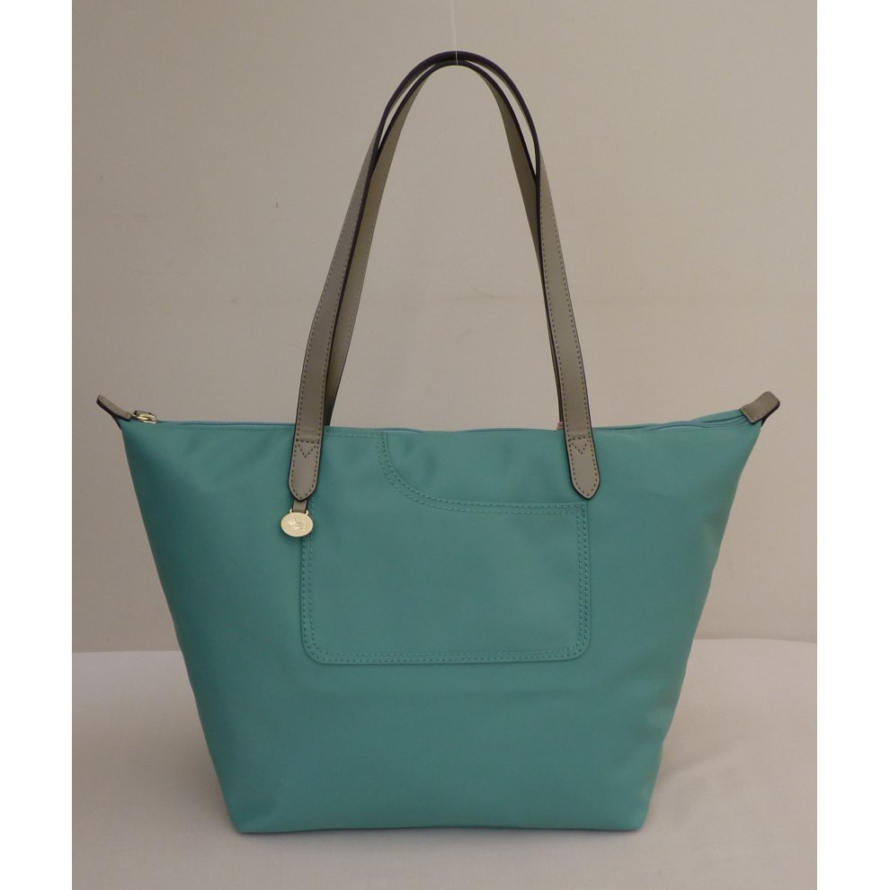 f25d4985e9 RADLEY  Pocket Essentials  Large Turquoise Nylon Shoulder Bag on OnBuy