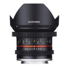Samyang 12 mm T2.2 VDSLR Manual Focus Video Lens for Canon M