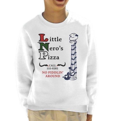 Little Neros Pizza Home Alone Kid's Sweatshirt