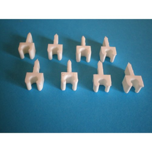 CABLE CLAMPS x 8pcs