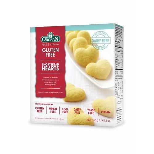 Orgran  Shortbread Hearts 150g