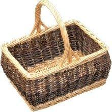 Rustic Rectangular Shopping Basket