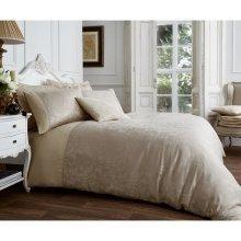 Vincenza mink jacquard cotton blend duvet cover