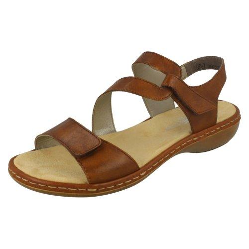 Ladies Rieker Stylish Strappy Sandals 659C7