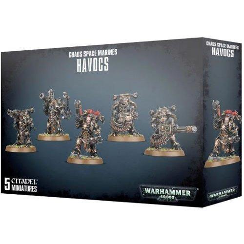 Games Workshop - Warhammer 40,000 - Chaos Space Marines Havocs