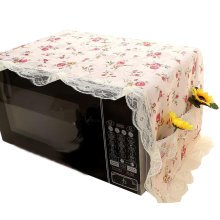 Beautiful Microwave Oven Dustproof Cover Microwave Protector -02