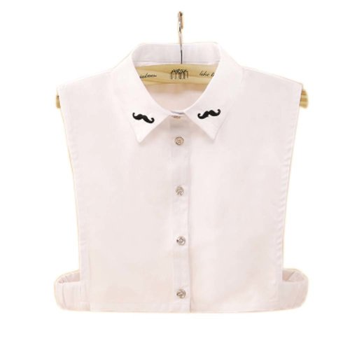 Elegant Women's Fake Half Shirt Blouse Collar Detachable Collar, #12