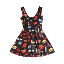 Middle-aged Mother Swimsuit/One-piece Chest Gathered Swimming Apparel
