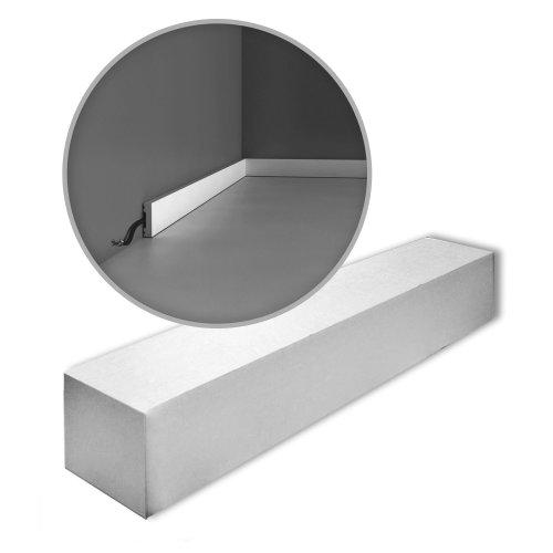 Orac Decor SX162-box-10 AXXENT SQUARE Skirtings 1 Box 10 pieces   20 m