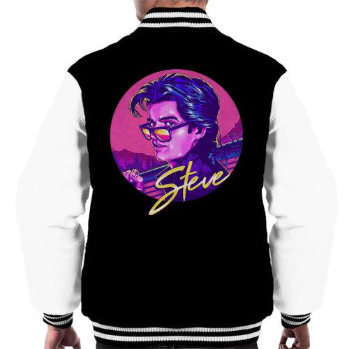 80s Steve Harrington Stranger Things Men's Varsity Jacket