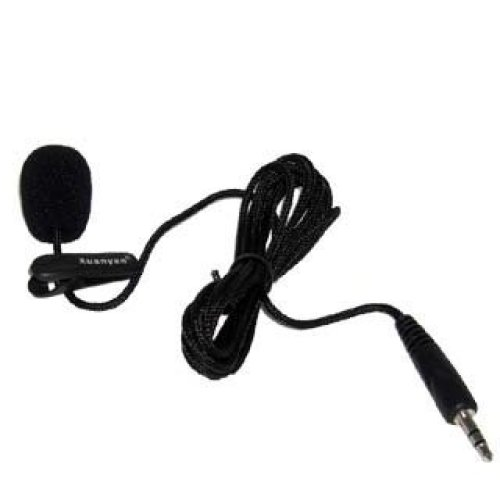 Mini Compact 3.5mm Jack Audio MIC Microphone for Skype Yahoo Google VoIP Windows XP/Vista/7/8 Webcam Vedio Internet Call Laptop PC with 1m One...