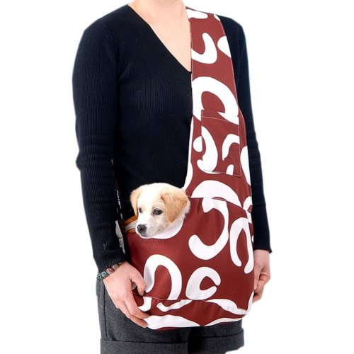 [Big Letter] Portable Oxford Fabric Pet Carrier Shoulder Bag for Dogs and Cats